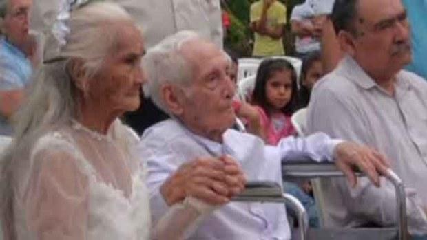 Video: ¡Se casaron! Después de 80 años juntos