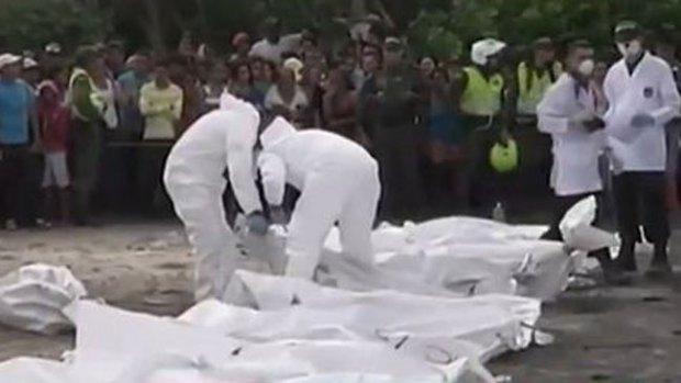 Video: Dan último adiós a niños calcinados
