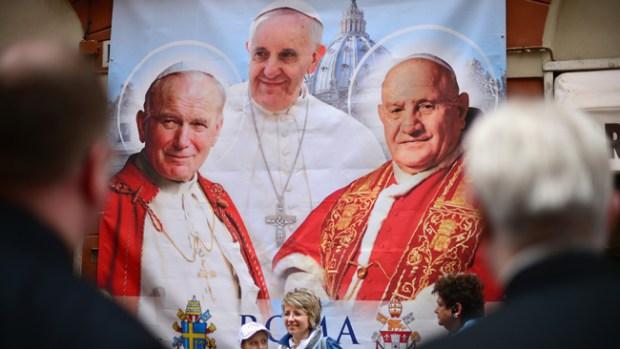 Video: Vea la canonización de los dos papas