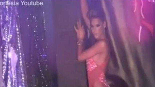 "Video: Transgénero quiere ser ""ángel"" de VS"