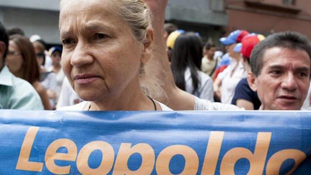 """Video: Opositor venezolano: """"No se rindan"""""""