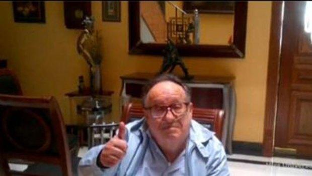 """Video: """"Chespirito"""" habla de su salud por Twitter"""