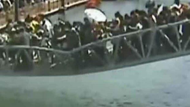 Video: Recorrido turístico se vuelve pesadilla