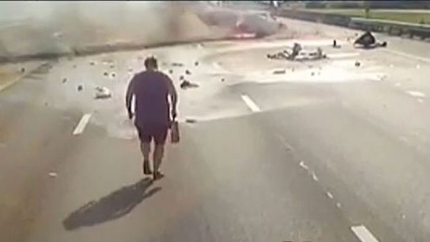 Video: La simple acción que salvó dos vidas