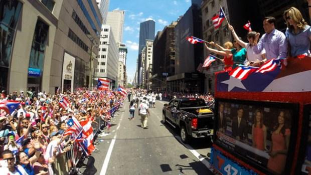 Video: Desfile Puertorriqueño se toma NY