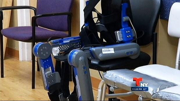 "Video: Esqueleto robot es ""un gran paso"""