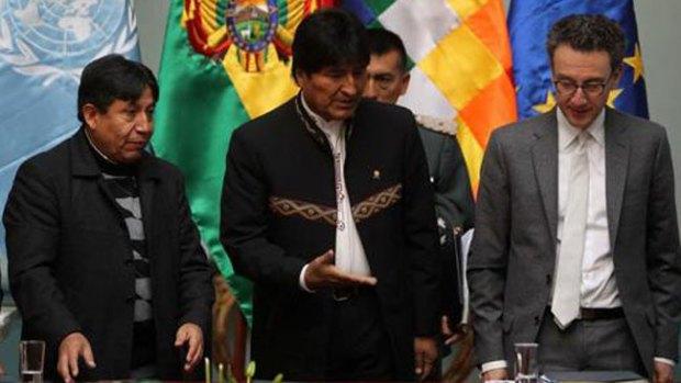 Video: Evo Morales revela que bebía su orina