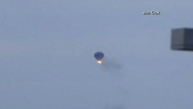 Video: Hallan 3ra víctima de globo incendiado