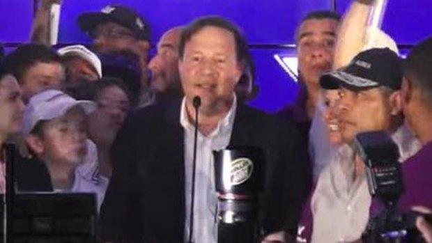 Video: Varela gana las elecciones en Panamá