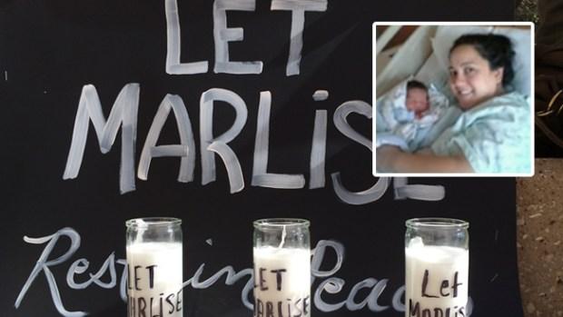 Video: Nombran al feto de Marlise Muñoz