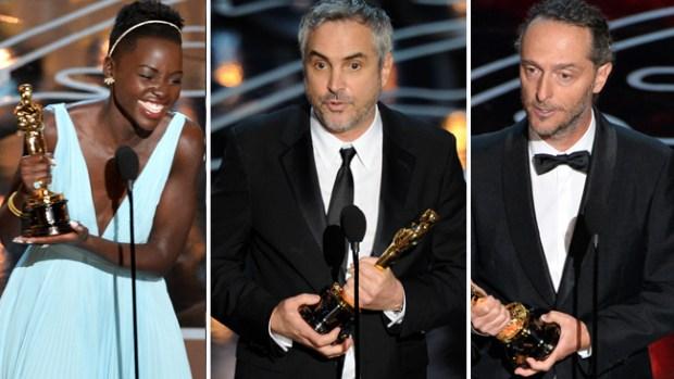 Video: Los mexicanos arrasan en los Oscar
