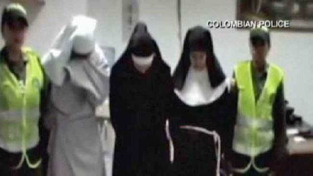 Video: En lugar de rezar, ¡traficaban cocaína!