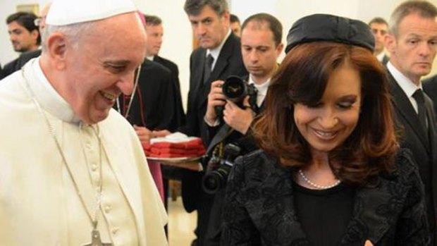 Video: La broma del Papa a Cristina Kirchner