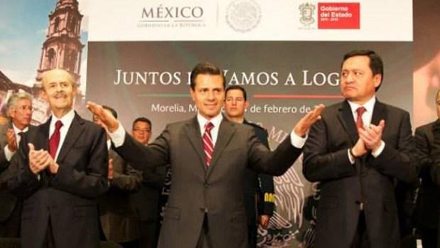 Video: EPN invierte millones en Michoacán