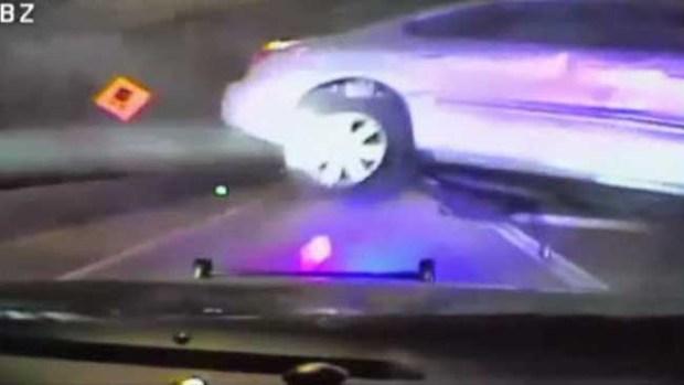 Video: Insólito video de persecución policiaca
