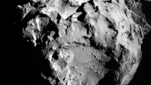 Video: Robot Philae manda 1a foto del cometa