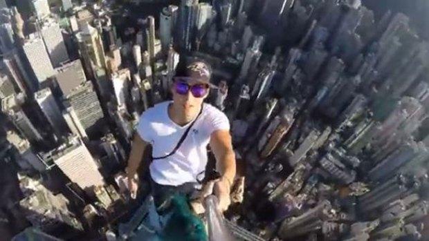 Video: El selfie más peligroso del mundo