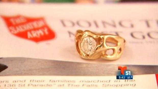 Video: Donante anónimo regala diamante