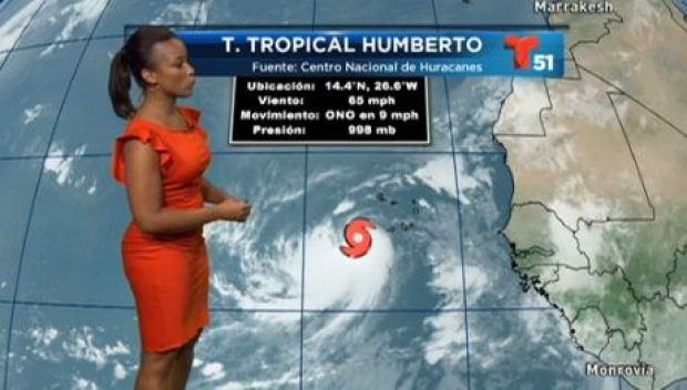 Video: Humberto podría convertirse en huracán