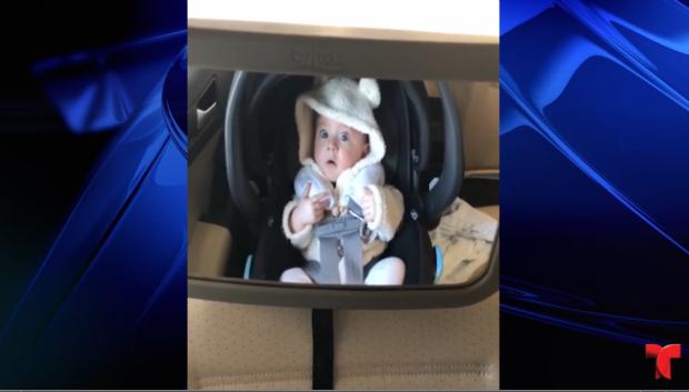 [TLMD - NATL] Viral: reacción de un bebé dentro de lavado de autos