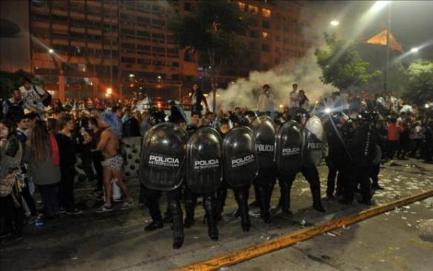 Video: Disturbios en Argentina tras derrota