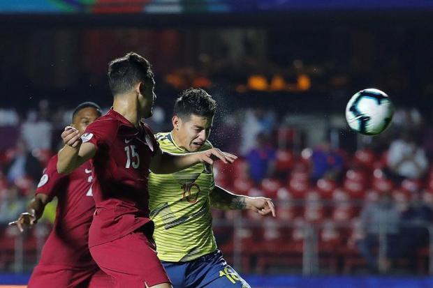 [TLMD - National LV] Lo mejor del primer tiempo del Colombia-Qatar