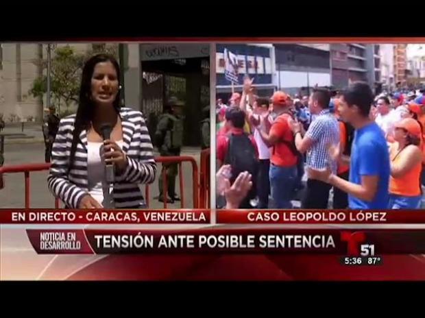 Agreden a periodista de Telemundo en Venezuela