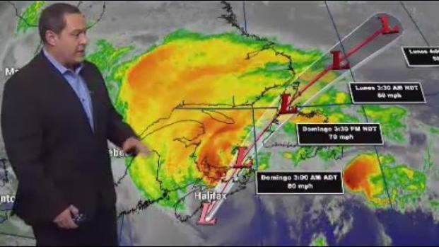 [TLMD - LV] Dorian se convierte en ciclon post-tropical