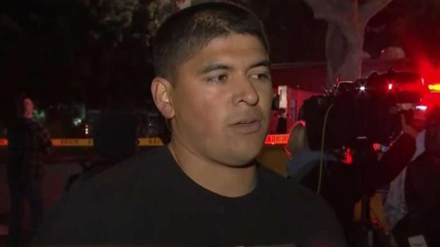 [TLMD - LA] Joven narra búsqueda de sus amigos tras tiroteo en California