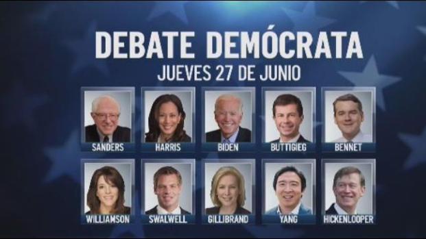 [TLMD - NATL] Todo listo para el primer debate demócrata