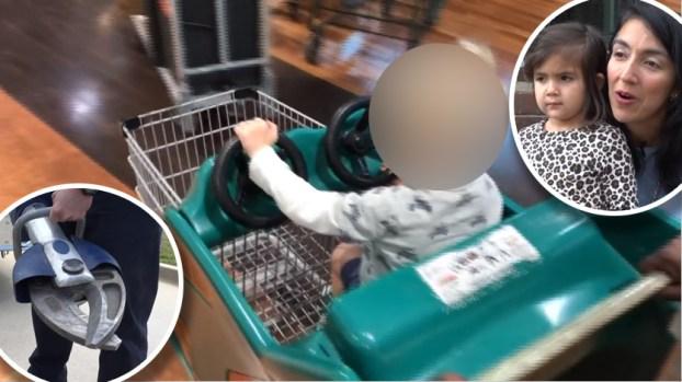 """[TLMD - NATL] Carrito de compras: la """"trampa"""" que atrapó a niña de 3 años"""