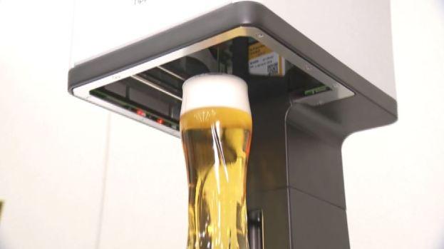 [TLMD - NATL] Cerveza con espuma impresa está lista para el Instagram