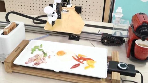 [TLMD - NATL] Robot prepara el desayuno en 6 minutos, mira cómo