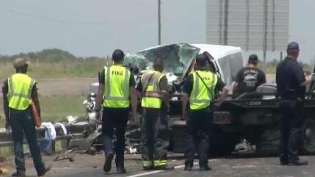 Cinco miembros de una familia mueren en accidente vial