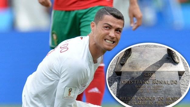 ¡Pobre Cristiano! Los tributos a Ronaldo que causaron risa o críticas
