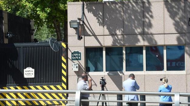 Atacan a balazos la Embajada de EEUU en Ankara