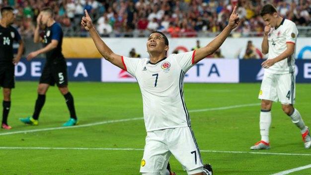 Colombia vence a EEUU y queda tercera en Copa América