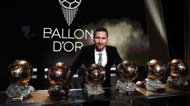 Messi hace historia al ganar su sexto Balón de Oro