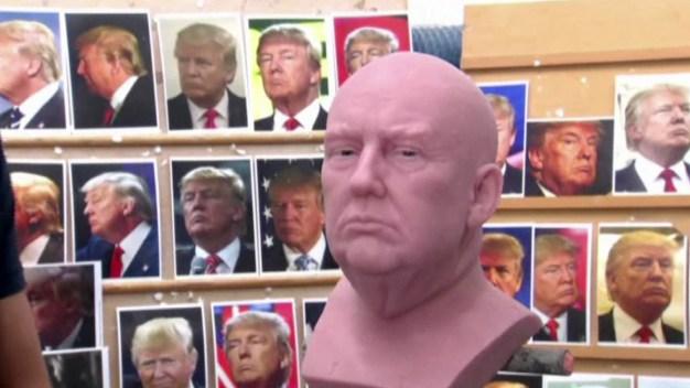 Estatua de cera de Trump tendrá cabello de barriga de yak