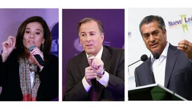 México: candidatos se sacan chispas en el primer debate