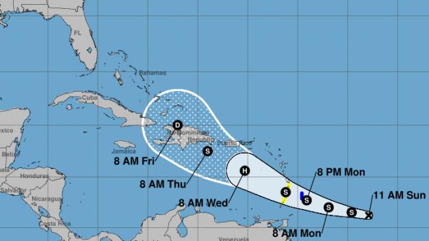 Islas del Caribe en alerta ante inminente paso de Dorian