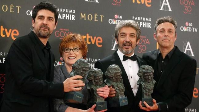 """""""Truman"""" triunfa en los Goya con cinco premios"""