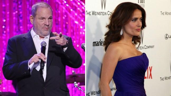 La respuesta de Harvey Weinstein a Salma Hayek
