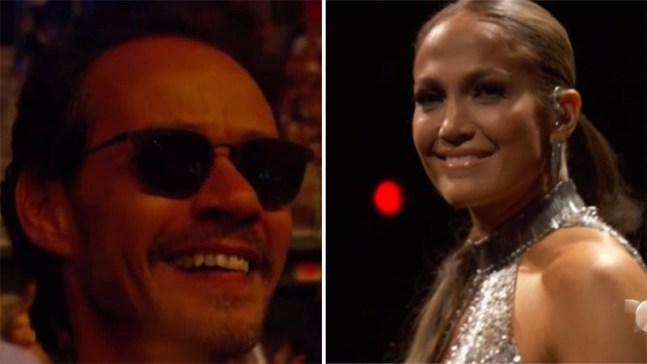 Marc Anthony se emociona al ver a Jennifer López