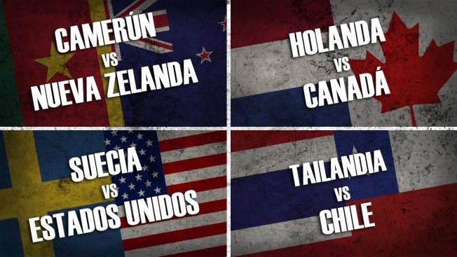 Copa Mundial Femenina: aquí resumen de los partidos de este jueves