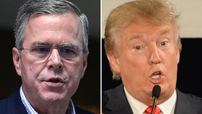Jeb Bush dice que Trump no es conservador