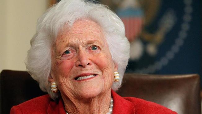 Razones por las cuales recordar a Barbara Bush