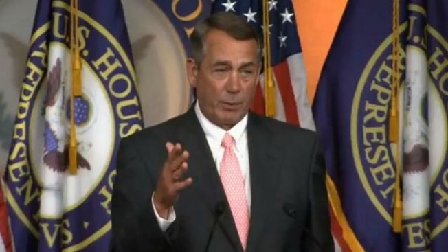 Republicano Boehner renuncia a su escaño