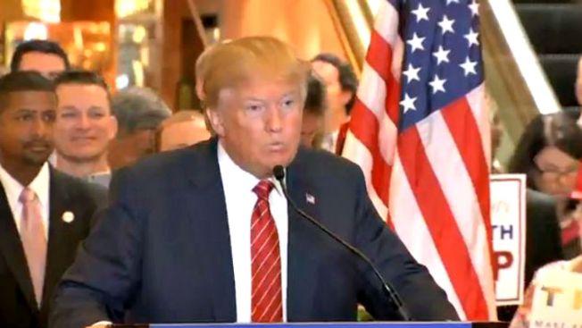 """Trump promete """"cero impuestos"""" para algunos"""
