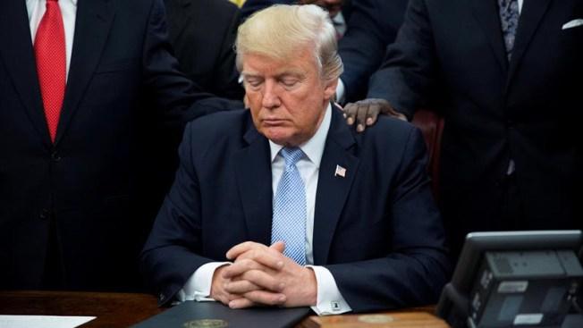 """Trump: """"Dios bendiga a la gente de la Ciudad de México"""""""